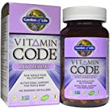 Garden of Life Vitamin Code RAW Prenatal, EconomySize 90 Capsules (Pack of 3)