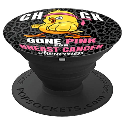 (funny breast cancer chick survivor gift - PopSockets Grip and Stand for Phones and Tablets)