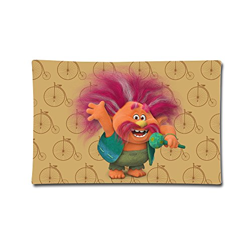 Trolls King Peppy Pillow Case 30 by 20 inch
