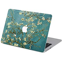 """Customized Famous Painting Series Vincent Van Gogh Almond-tree Branch in Blossom Special Design Water Resistant Hard Case for Macbook Air 13"""" (Model A1369/a1466)"""