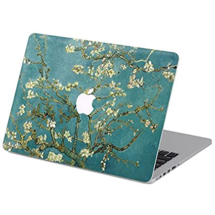 newest 7e80f 3607e Customized Famous Painting Series Vincent Van Gogh Almond-tree Branch in  Blossom Special Design Water Resistant Hard Case for Macbook Air 13