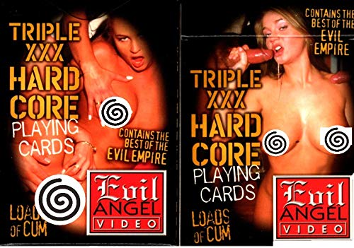 (Bad Ass Nude Guy/Girl Playing Cards)