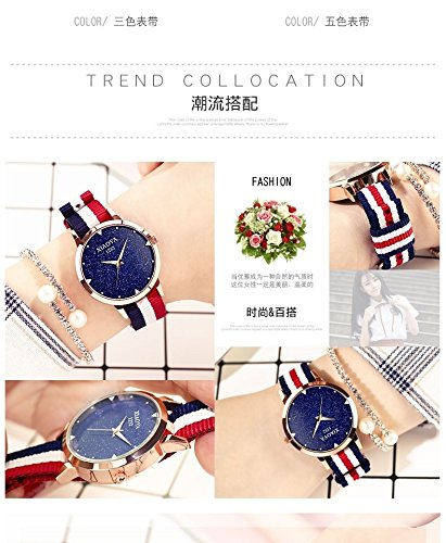 Generic 2017_new_ fashion _Ladies_ women girls watch es_waterproof_ stylish _night_light_ quartz women girl _jacket_with_ students _of Korean_style_of simple