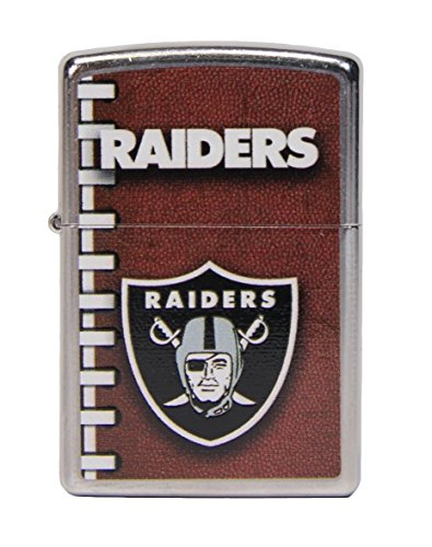 Oakland Raiders NFL Football Style Zippo Lighter