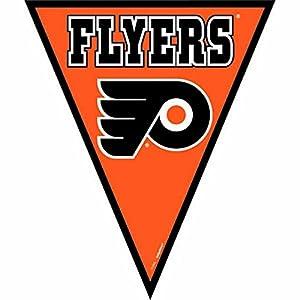 Amscan Super Cool Philadelphia Flyers NHL Pennant Banner, 12', Orange by TradeMart Inc.