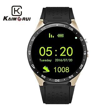 Amazon.com: Kaimorui Smart Watch Android 5.1 Bluetooth ...