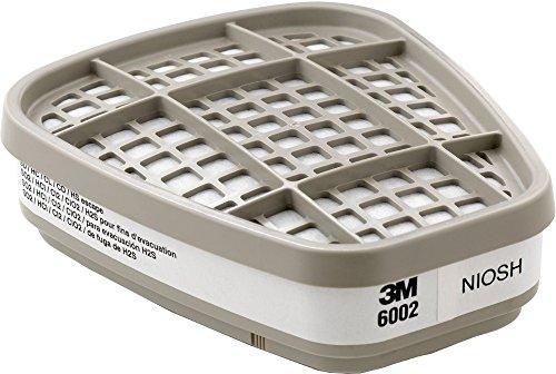3M 6000 Series Gas/Vapour Respirator Cartridges, 6002 Acid G