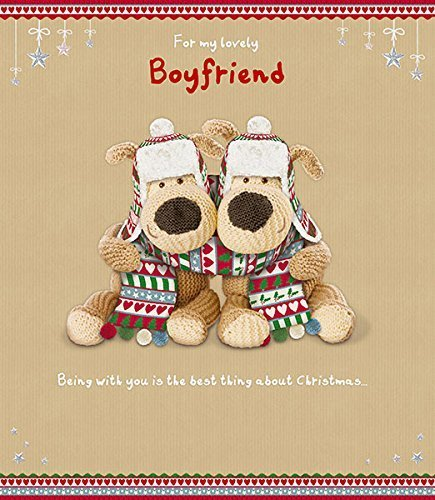 Boofle Extra Large Boyfriend Christmas Card Uk Greetings