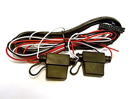 Amazon.com: Calamp Power Harness, 20-pin, 3-Wire With Fuse, 8 ft pn on 20 pin power supply, computer wire harness, 20 pin cable assembly,