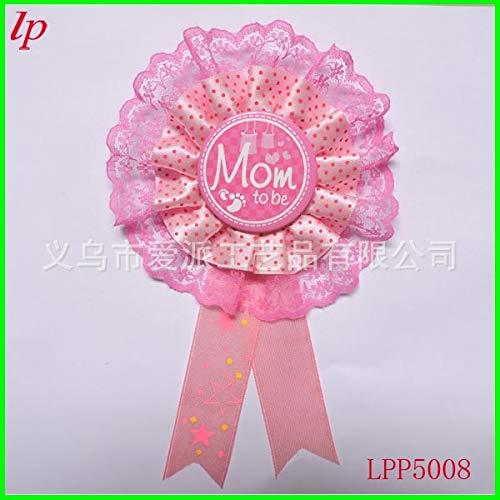 Mommy to be Rotgold-Konfetti-Ballon-Baby-Shower-Party-Event Sch/ärpe mom to be Boutonniere ALEAD Babyparty-Deko-Set Schwangerschafts-Ank/ündigungsdekoration