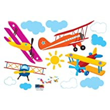Airplanes Wall Decal
