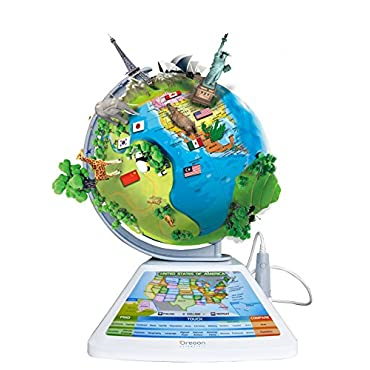 Oregon Scientific SG268R Smart Globe Adventure AR Augmented Reality Globe