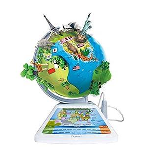Oregon Scientific Smart Globe Adventure AR Educational World Geography Kids-Learning Toy