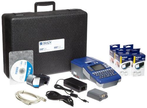Brady BMP51 Portable Handheld Label Printer Electrical Starter Kit (BMP51-KIT-EL) by Brady