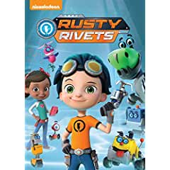 Inspired by the DIY culture for kids - RUSTY RIVETS arrives on DVD July 31st from Nickelodeon