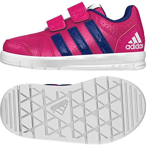 adidas Unisex Baby LK Trainer 7 CF I Lauflernschuhe Rosa (Rosfue / Tinuni / Ftwbla)