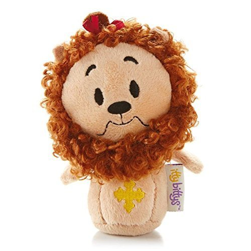 (Hallmark Itty Bitty Plush KID3255 Cowardly Lion Wizard Of Oz)