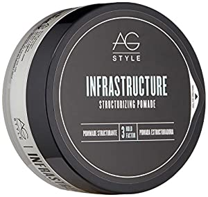 AG Hair Style Infrastructure Structurizing Pomade 2.5 Fl Oz by Mainspring America, Inc. DBA Direct Cosmetics