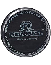 Eulenspiegel 181119 Professionele Aqua make-up, zwart, 20 ml, veganistisch
