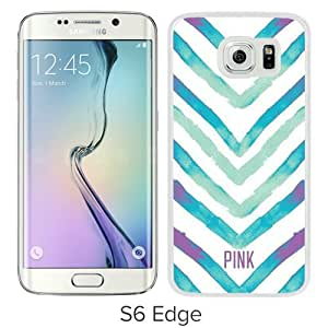 Victoria's Secret Love Pink 59 White Personalized Recommended Custom Samsung Galaxy S6 Edge G9250 Phone Case
