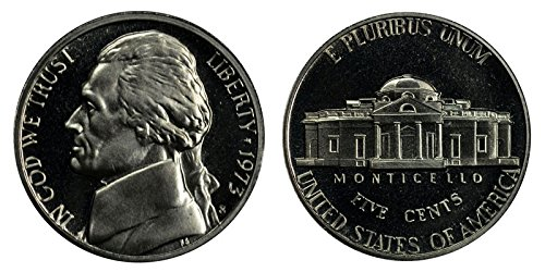 1973 S Proof Jefferson Nickel PF1