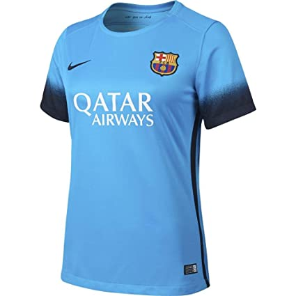 f82fb04dfbd Amazon.com   Nike Women s FC Barcelona 15 16 Third Light Current ...