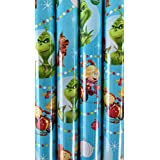 Dr. Seuss THE GRINCH Wrapping Paper - 70 sq ft Roll