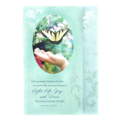 Difficult Times - Jesus Calling by Sarah Young - Inspirational Boxed Cards - Butterfly