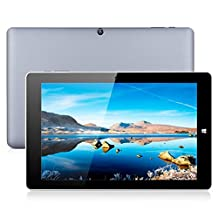 """CHUWI Hi10 Pro 10.1"""" 2 in 1 Ultrabook Dual OS Windows10 + Android5.1 Tablet PC Intel Cherry Trail X5-Z8350 64bit Quad Core 4GB RAM 64GB ROM with Dual Cameras WiFi Bluetooth HDMI OTG Type-C External 3G Dongle Tablet"""