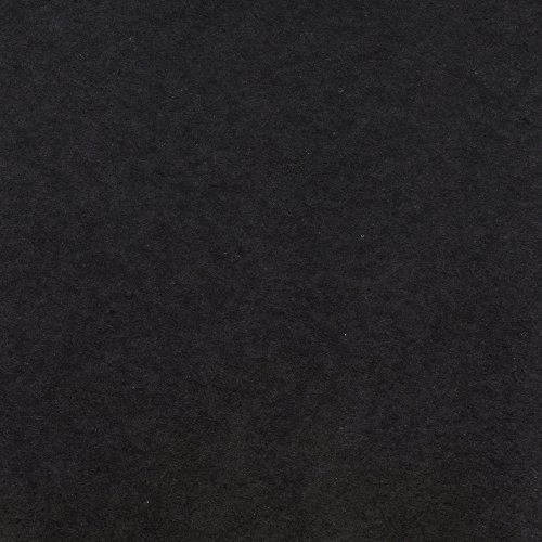 JAM Paper Wrapping Paper Rolls - 25 sq ft. - Black Kraft Paper - Sold individually