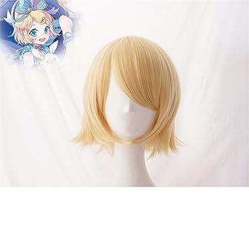 ZYC Vocaloid Hatsune Miku Snow Cosplay Peluca Kagamine ...
