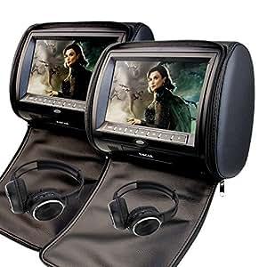 9 inch Headrest Car DVD Player FM Games USB SD multimedia ...