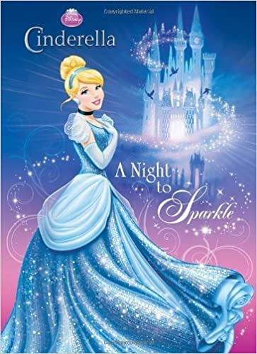 A Night To Sparkle Disney Princess Deluxe Coloring Book By RH August 7 2012 Paperback Amazon Books