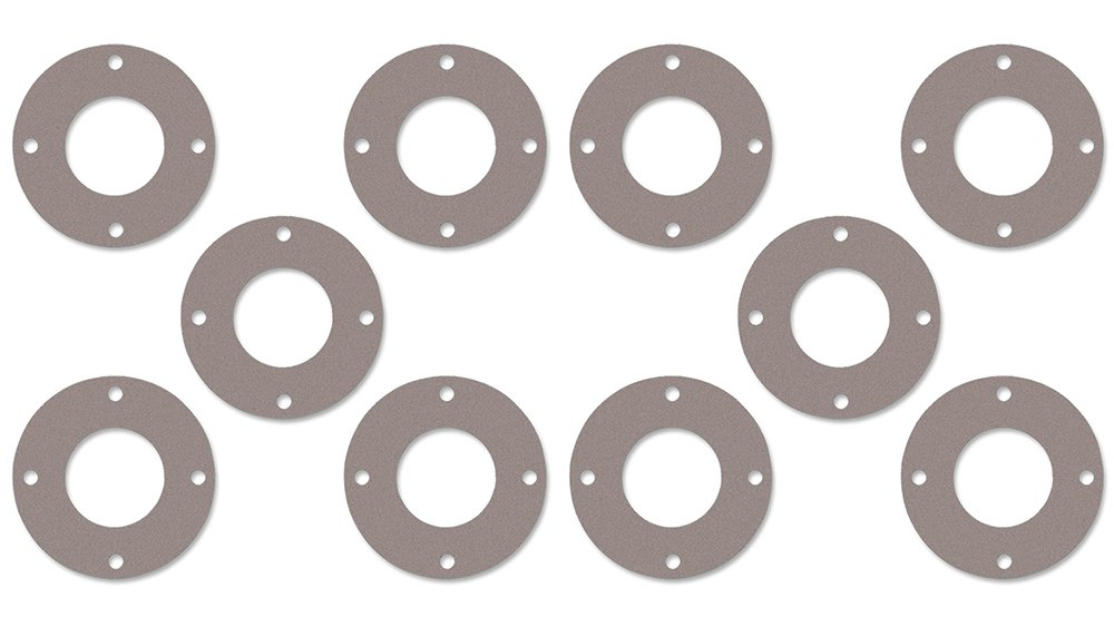 2-1//2 Pipe Size Sterling Seal CFF7540.2500.062.300X20 7540 Vegetable Fiber Full Face Gasket Pack of 20 1//16 Thick 2.88 ID Pressure Class 300#