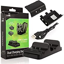 Carregador Controle Xbox One Dock + 2 Baterias Dobe