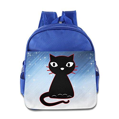 D2 Cool Fancy Cat School Bag For 3-6 Years Old Kids RoyalBlue Size One Size (Xmen Fancy Dress)