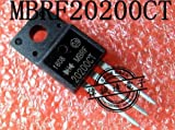Calvas 10pcs MBRF20200CT 20200CT MBRF20200 Schottky & Rectifiers 20A 200Vrrm 10A 0.89Vf TO-220F new original
