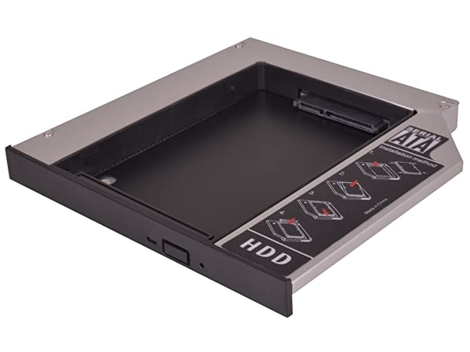 Marco de montaje HDD/SSD para adaptador Drive Bay, apto para SATA ...