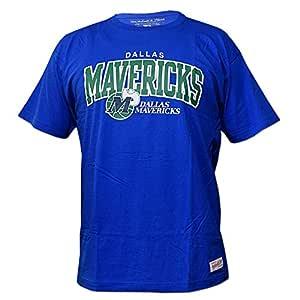 Mitchell & Ness Dallas Mavericks Team Arch NBA - Camiseta de ...