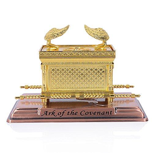 singlotat Ark of The Covenant Replica Mini (Ark of The Covenant Gold)