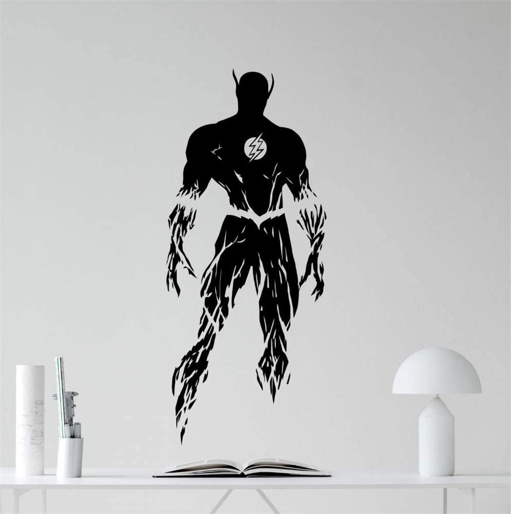 3 size options Superman stance full colour decal wall art feature sticker