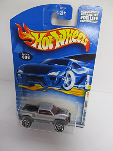 2001 Mattel Hot Wheels First Editions Mega-Duty Pickup Truck diecast car Collector No. (Duty Pickup Wheel)