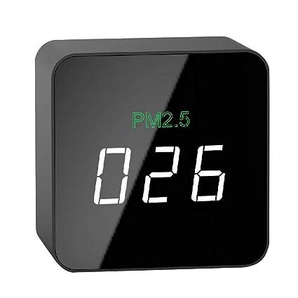 Lianyubang Mini PM2.5 Detector láser medidor de humo, herramienta de monitor de calidad