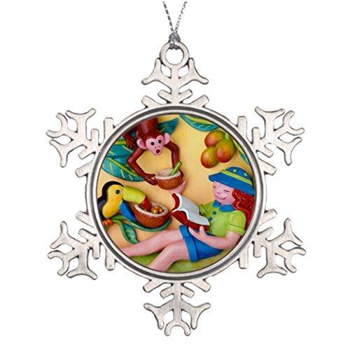 Metal Ornaments Kids Frog Tree Branch Decoration Home Amp; Decor]()
