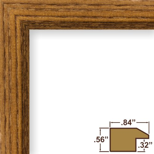Craig Frames 8261610 Real Wood Grain Finish 22 by 30-Inch Pi