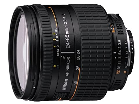 Nikon 24-85mm f/2.8-4 IF AF-D Nikkor Lens with Hood - International Version (No Warranty) (Nikon 85 Mm D)