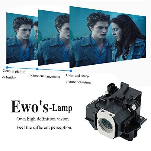 EWOu0027S HC8350 Lamp Bulb For PowerLite Home Cinema 8350 Epson Projector Lamp  Bulb