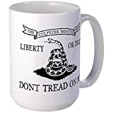 CafePress - Culpeper Flag Large Mug - Coffee Mug, Large 15 oz. White Coffee Cup