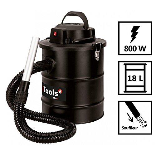 Staubsauger von ASCHE Itools 800W–Behälter aus 18L + Filter HEPA und Blasfunktion
