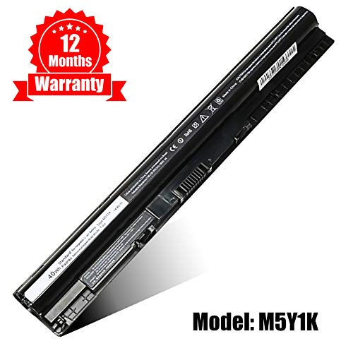 M5Y1K Battery Laptop Replacement for Dell Inspiron 14 15 3000 15 5000 Series 3451 3551 5558 5758 Vostro 3458 3558, fit P/N M5Y1K VN3N0 GXVJ3 453-BBBR-14.8V 40Wh Cell Li Ion Replacement Battery